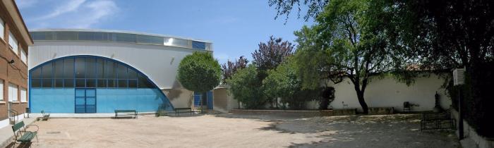 Vista general patio interior